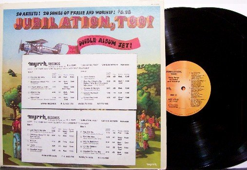 Jubilation Too - 1970's Praise & Worship - Vinyl 2 LP Record Set + Insert - Christian
