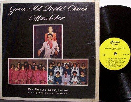 Green Hill Baptist Church Mass Choir - Self Titled - Vinyl LP Record - Christian Gospel
