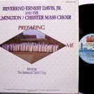 Davis, Reverend Ernest Jr & The Wilmington Mass Choir - He's Preparing Me - Vinyl LP Record - Gospel