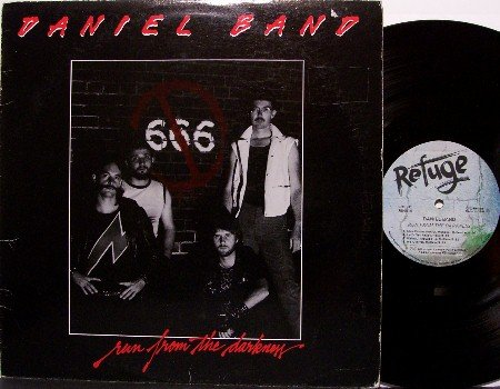 Daniel Band - Run From The Darkness - Vinyl LP Record - Christian Rock