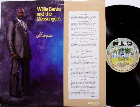 Banks, Willie & The Messengers - Masterpiece - Vinyl LP Record - Promo - Christian Gospel