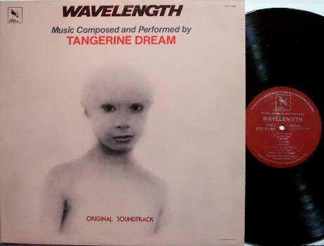 Wavelength - Soundtrack - Vinyl LP Record - Varese Sarabande Label - Prog Tangerine Dream - OST