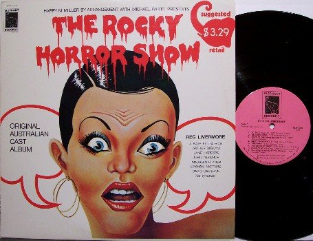 Rocky Horror Show, The - Original Australian Cast - Vinyl LP Record - Soundtrack - OST