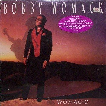 Womack, Bobby - Womagic - Sealed Vinyl LP Record - R&B