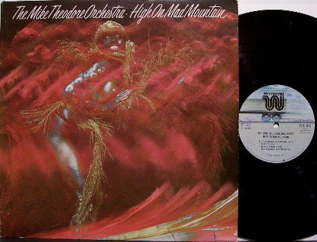 Theodore, Mike Orchestra - High On Mad Mountain - Vinyl LP Record - Westbound Label - R&B Soul