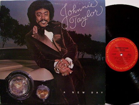 Taylor, Johnnie - A New Day - Vinyl LP Record - R&B Soul