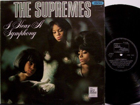 Supremes, The - I Hear A Symphony - Great Britain Tamla Motown Pressing - Vinyl LP Record - R&B