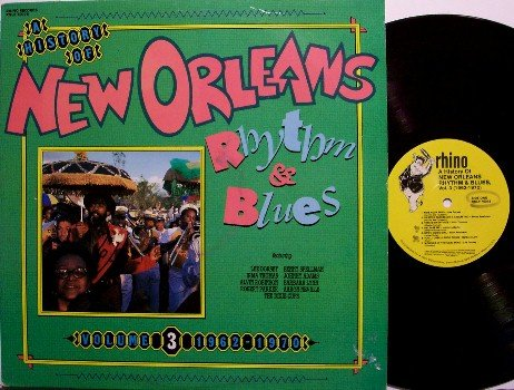 New Orleans Rhythm & Blues, A History Of - Volume 3 - Vinyl LP Record - Rhino - R&B
