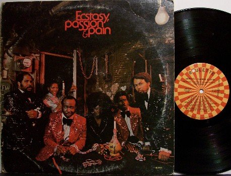 Ecstasy, Passion & Pain - Self Titled - Vinyl LP Record - Roulette Label - R&B Soul