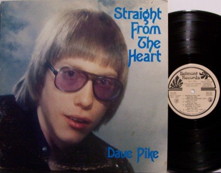 Pike, Dave - Straight From The Heart - Vinyl LP Record - Private Label 70's Country