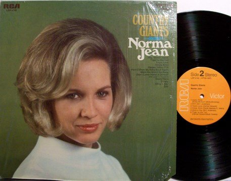 Jean, Norma - Country Giants - Vinyl LP Record - Female Country