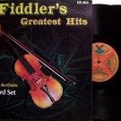 Fiddler's Greatest Hits - 30 Songs - Various Artists - 2 Vinyl LP Record Set - Bluegrass