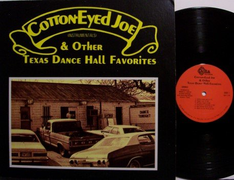 Cotton Eyed Joe - Instrumentals - The Texas Playboys - Vinyl LP Record - Texas Country