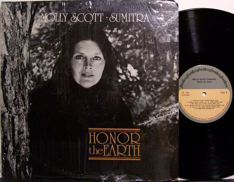 Scott, Molly - Sumitra Honor The Earth - Vinyl LP Record + Insert - Female Folk