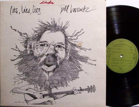 Horvitz, Bill - Lies Lies Lies - Vinyl LP Record - ESP Label - Folk Psych