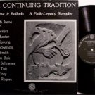 Folk Legacy Sampler - Ballads The Continuing Tradition - Vinyl LP Record