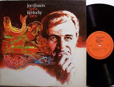 Creason, Joe - Spins Kentucky Yarns - Vinyl LP Record - Spoken Folk
