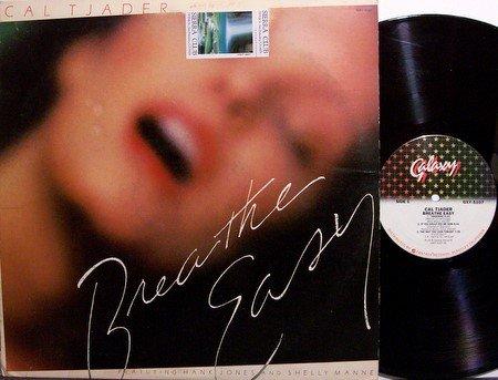 Tjader, Cal - Breathe Easy - Vinyl LP Record - Promo - Hank Jones / Shelly Manne - Jazz