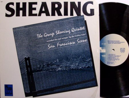 Shearing, George Quintet - San Francisco Scene - Vinyl LP Record - Jazz