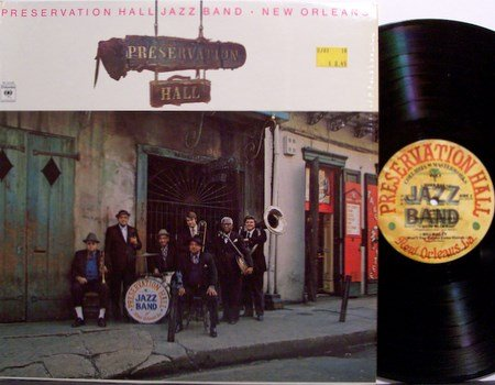 Preservation Hall Jazz Band - New Orleans - Vinyl LP Record