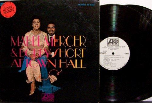 Mercer, Mabel & Bobby Short - At Town Hall - Vinyl 2 LP Record Set - Mono - White Label Promo - Jazz