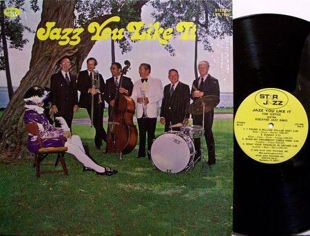 Justice, Tom & The Biscayne Jazz Band - Jazz You Like It - Vinyl LP Record