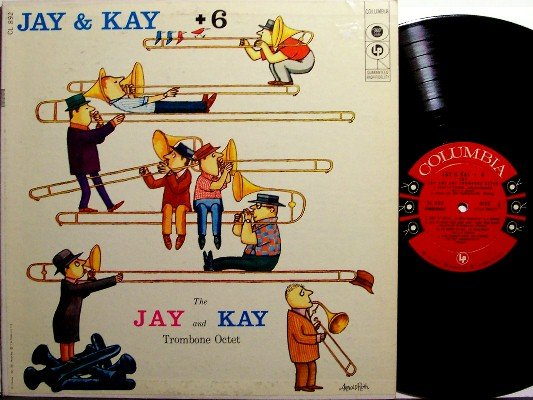 Johnson, J.J. & Kai Winding - Jay and Kay +6 - Misprint Cover - Vinyl LP Record - 6 Eye - JJ - Jazz
