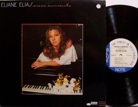 Elias, Elaine - Cross Currents - Vinyl LP Record - Blue Note - Female Jazz