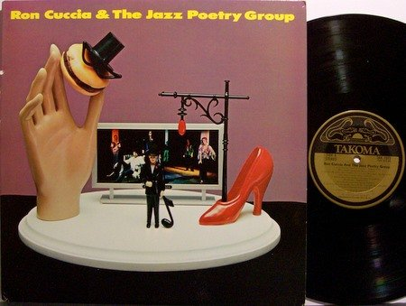 Cuccia, Ron & The Jazz Poetry Group - Self Titled - Vinyl LP Record - Takoma Label - Jazz