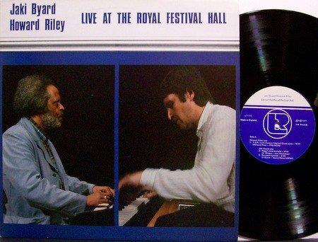 Byard, Jaki & Howard Riley - Live At The Royal Festival Hall - Vinyl LP Record - Leo - Free Jazz