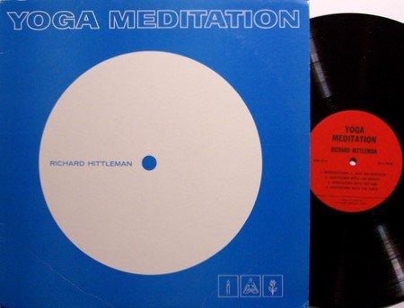 Yoga Meditation - Richard Hittleman - Vinyl LP Record - 1964 Weird Unusual