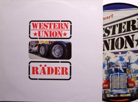 Western Union - Live Picture Disc - Vinyl LP Record - West German - Country