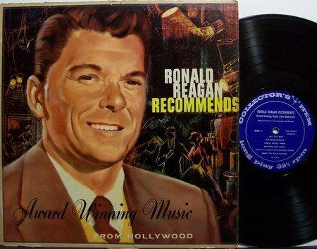 Reagan, Ronald - Recommends - Vinyl LP Record - General Electric Promo - President