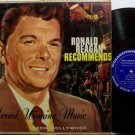 Reagan, Ronald - Recommends - Vinyl LP Record - General Electric Promo - President