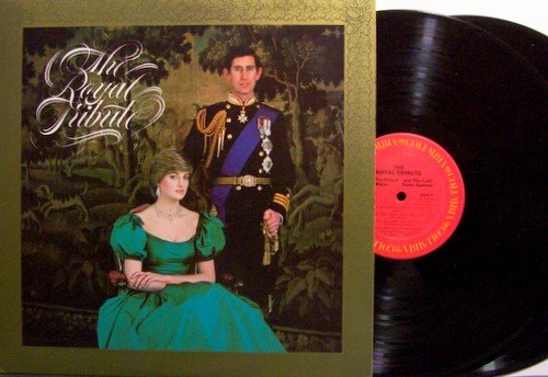 Princess Diana - The Royal Tribute - Vinyl 2 LP Record Set - Di  Prince Charles - Weird Unusual