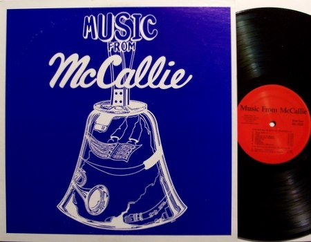 Music From McCallie - Private Tennessee Handbell Choir - Vinyl LP Record - Weird Unusual