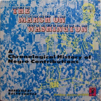 March On Washington D.C., The - Sealed Vinyl LP Record - 1963 Negro History