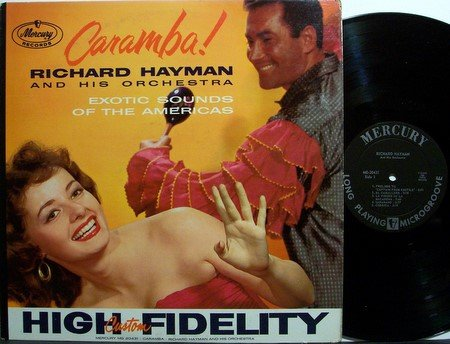 Hayman, Richard - Caramba - Vinyl LP Record - Mono - Cheesecake Sexy Odd Unusual