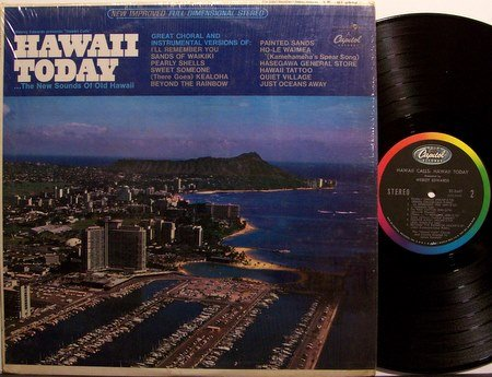 Hawaii Today - New Sounds Of Old Hawaii - Vinyl LP Record - World Music