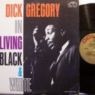 Gregory, Dick - In Living Black & White - Vinyl LP Record - Black Comedy