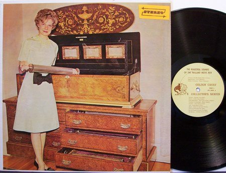 Beautiful Music Sounds Of The Paillard Music Box - Vinyl LP Record - Juke - Weird Unusual