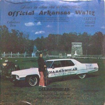 Jones, Cletus - Official Arkansas Waltz - Sealed Vinyl LP Record - Odd Unusual