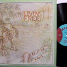Country Grass, The - Livin Free - Vinyl LP Record - Rebel Label - Livin' - Bluegrass
