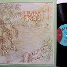 Country Grass, The - Livin Free - Vinyl LP Record - Rebel Label - Livin' - Bluegrass