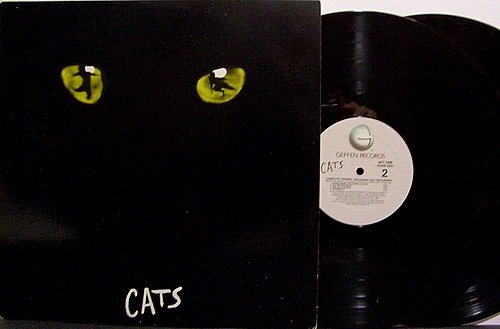 Cats - Soundtrack - Vinyl 2 LP Record Set - Andrew Lloyd Webber - Broadway Musical - OST