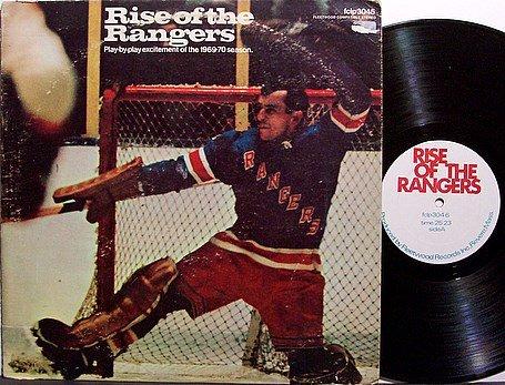 New York Rangers - 1969-70 Season - Vinyl LP Record - Fleetwood Label - Hockey Sports