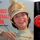 Famous Football Songs - Southwest Conference- Vinyl LP Record - Promo Only Enco Advertising - Sports