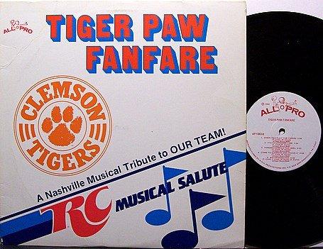 South Carolina Clemson Tigers - RC Musical Salute - Vinyl LP Record - Football Sports