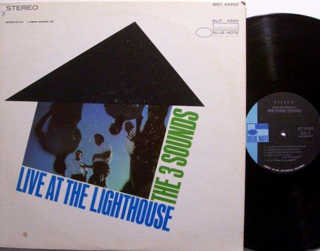 Three Sounds, The - Live At The Lighthouse - Vinyl LP Record - Blue Note - 3 - Jazz