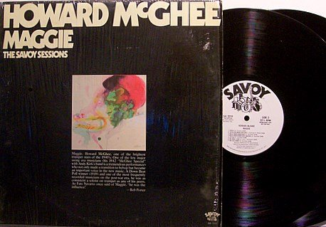 McGhee, Howard - Maggie The Savoy Sessions - White Label Promo - Vinyl 2 LP Record Set - Jazz